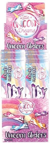 Unicorn Flying Plane Gliders Pack of 4